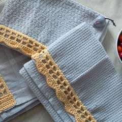 Decorative Crochet Edging For Dishcloths