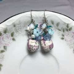 Owl Cluster Earrings