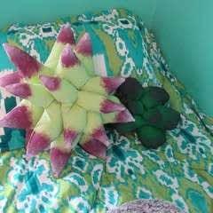 Diy Succulent Pillows + Storage
