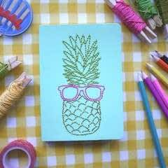 Embroidered Notebooks