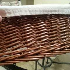 No Sew Basket Liner