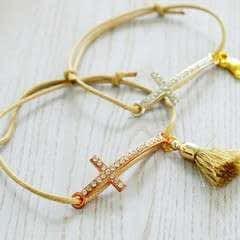 Baptism Favors (bracelets) Diy!