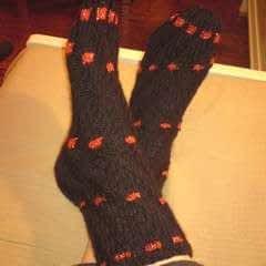 Spiral Socks