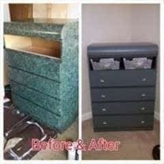 Ugly Freebie To Lovely Furniture