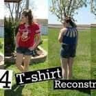 Diy 4 T Shirt Reconstructions