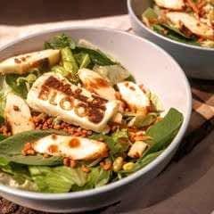 BBQ Halloumi Salad
