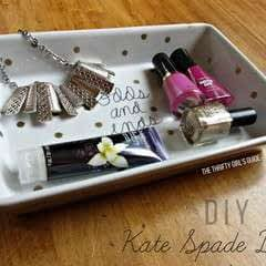Diy Kate Spade Daisy Place Odds & Ends Dish