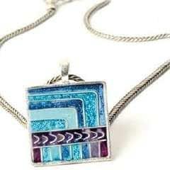 Bold Inca Inspired Pendant