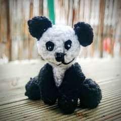 Amigurumi Panda Cub