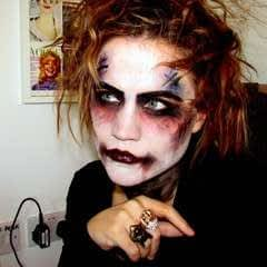 Gothic Rock Band Member Inspired Make Up