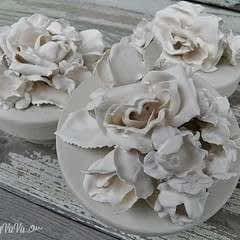 Plaster Of Paris Flowers