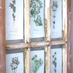 Salvaged Barn Window & Free Printables