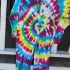 Tie Dye Union Suit!