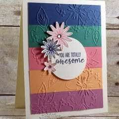 Grateful Bunch You Are Totally Awesome Card
