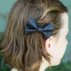 Diy Leather Hairbow