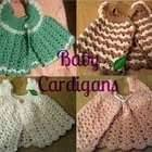 Baby Crocheted Cardigans