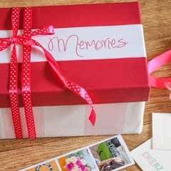 Handmade Gift:  A Box Of Memories