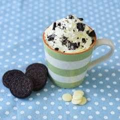 White Chocolate & Oreo Mug Cake