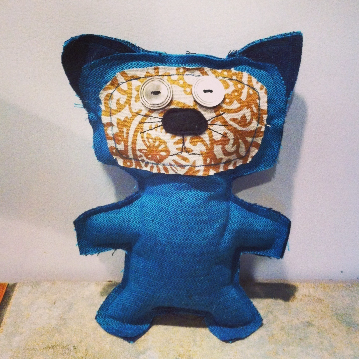 Upcycled Scrap Fabric Stuffie 183 How To Make A Mew Plushie