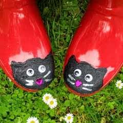 Cat Wellies