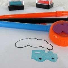 Make Craft Foam Stamps!