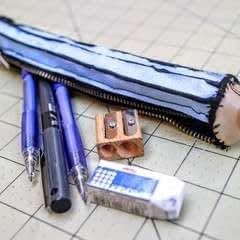 3D VS 2D Pencil Case