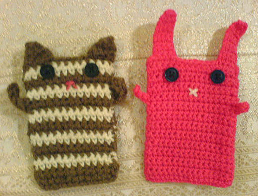 Bunny And Kitty Coin Purses