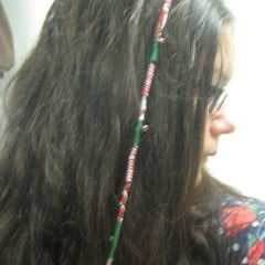 Holiday Hair Wrap