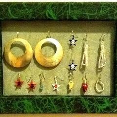 Wall Of Earrings