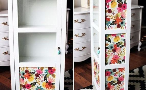 Furniture Makeover With Decoupage