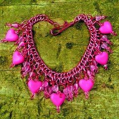 Bleeding Heart Bracelet