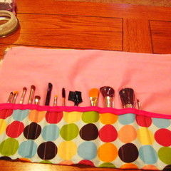 Make Up Brush Roll