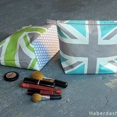 Diy.. Make A Union Jack Cosmetic Case