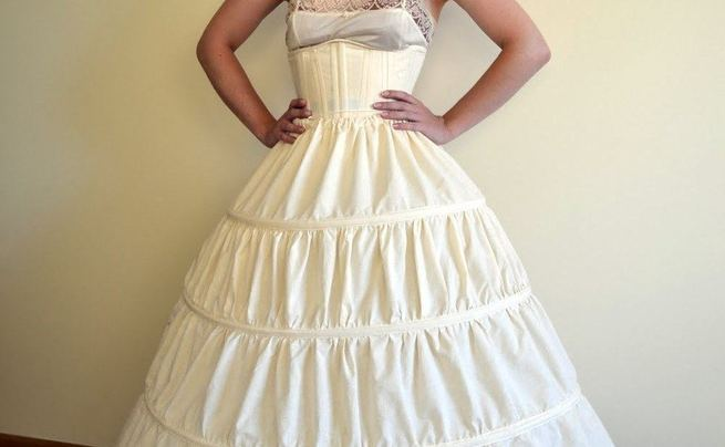How To Make A Hoop Skirt