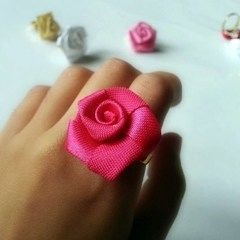 Satin Rose Ring