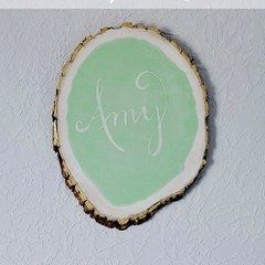 Tree Stump Chalkboard