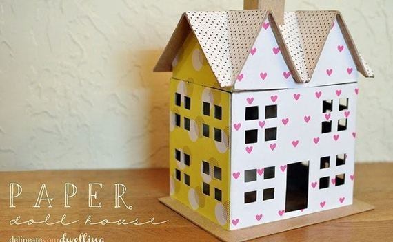 Scrapbook Paper Doll House