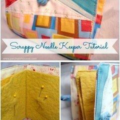 Scrappy Needle Keeper Tutorial