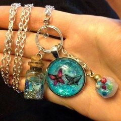 Fairy Form Keepsakes Necklace
