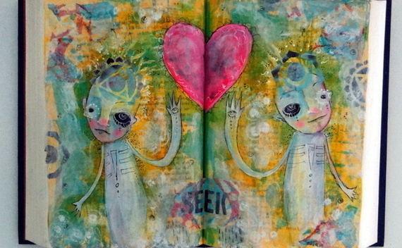 Turn A Book Into A Hangable Canvas