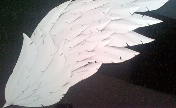 Paper/Craft Foam Wings