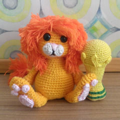 Orange Lion And The World Cup