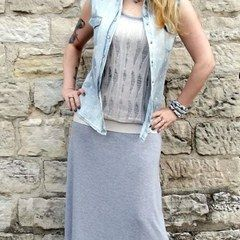My Darling (Diy) Denim & Tulle Vest