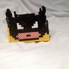 Batman Hama Bead Pot