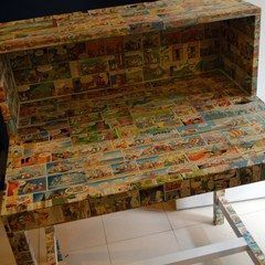 Papering Furniture