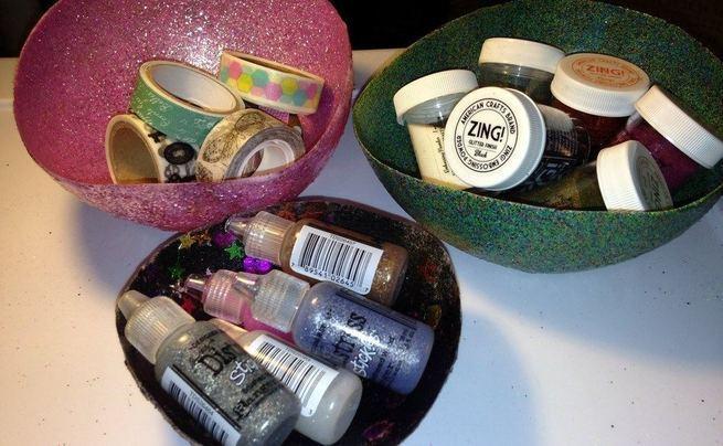 Glitter Bowls
