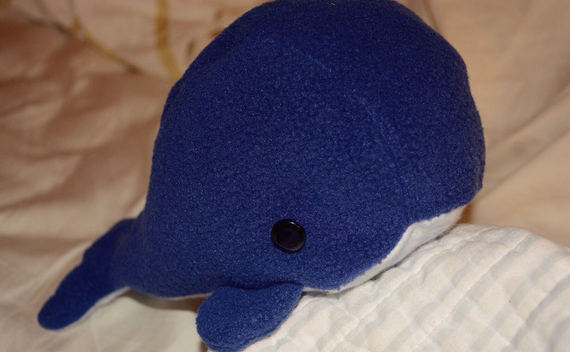 Whale Plushie