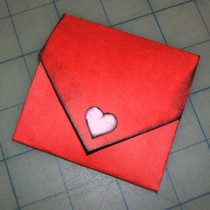 Valentine's Card Envelope
