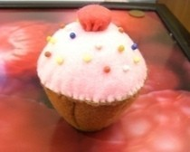 Cup Cake Pin Cushion