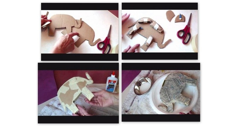 Diy papier mache sculpture how to make a papier mache for How to make a sculpture out of paper mache